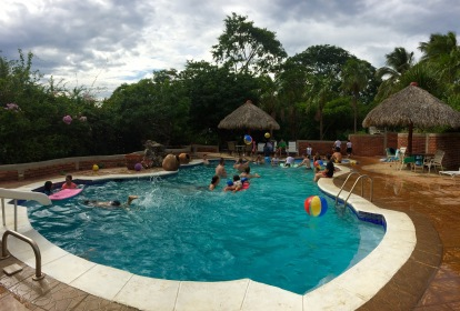 Pool party with Casa Robles and Casa Havliah, 2015